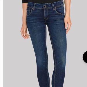 Hudson skinny jeans Collin medium wash like new